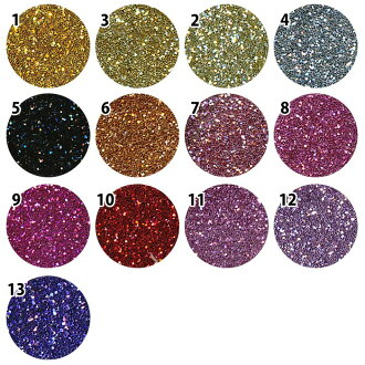 Erikonail * jewelry collection sparkling glitter powder ( ERI-12 ~ 24 )