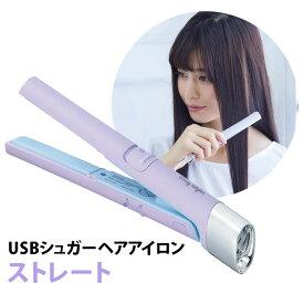 USB シュガーアイロン ストレート イージースタイラー ヘアアイロン コジット【RCP 送料無料】【SIB】