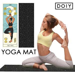 【300円OFFクーポン対象】DOIY ヨガマット YOGA MAT Constellation Tarot card the yogi HERE(DTL)【送料無料】【SIB】