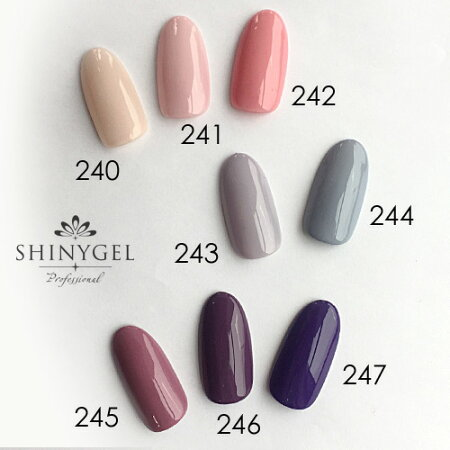 SHINYGELProfessional:カラージェル241/ベビーピンク4g(シャイニージェルプロフェッショナル)[UV/LED対応○](JNA検定対応)