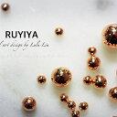 ☆RUYIYA(ルイーヤ):メタルブリオン1005 ピンクゴールドL アソート/GROSS 約24g