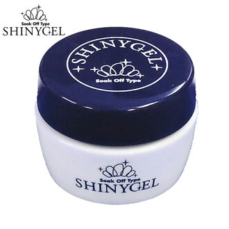 [UV/LED] SHINYGEL: 100% pure made-in-Japan damaged-free clear gel, 18 g (normal/soft type) clear soak-off gel