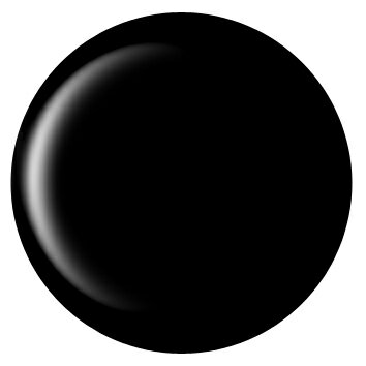 SHINYGEL Professional:アートジェル ブラック(アート用カラージェル) 4g (シャイニージェルプロフェッショナル)[UV/LED対応○](JNA検定対応)