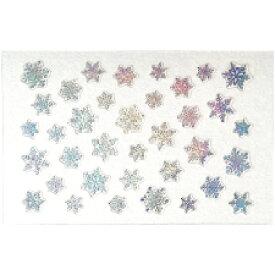 ネイルシール 雪の結晶 アメイリー ネイルシール No.8-9 雪の結晶(OS) xmas