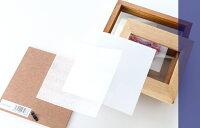 名入れフォトフレームハッピーフレーム【中枠彫刻】2枚開きタイプ(ブラウン)木製フォトフレーム写真立て【誕生日ベビーメモリアル出産祝い結婚祝い】ギフト贈答プレゼント【名前入り】メッセージカード【コンビニ受取対応商品】【あす楽】