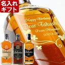 名入れ プレゼント ギフト 【名入れ彫刻ギフト】ウイスキー スコッチ《バランタイン12年700ml40度》父の日・誕生日・還暦祝いに名前入…