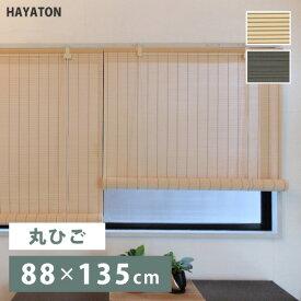 【送料無料】PVCすだれ ロールアップ 規格品(幅88×高さ135cm) HAYATON 大湖産業