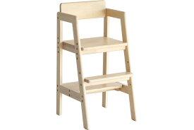 ベビーチェア ハイチェア 木製 高さ調節 ダイニングチェア ベビーチェアー 子供 2歳 食事 椅子 赤ちゃん 椅子 テーブルベビーチェア キッズチェア Kids High Chair -stair- ilc-3340