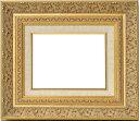 油絵用額縁 8205/ゴールド F8(455×380mm) ☆前面ガラス仕様☆ 【dras-21】【絵画/壁掛け/インテリア/玄関/アート…
