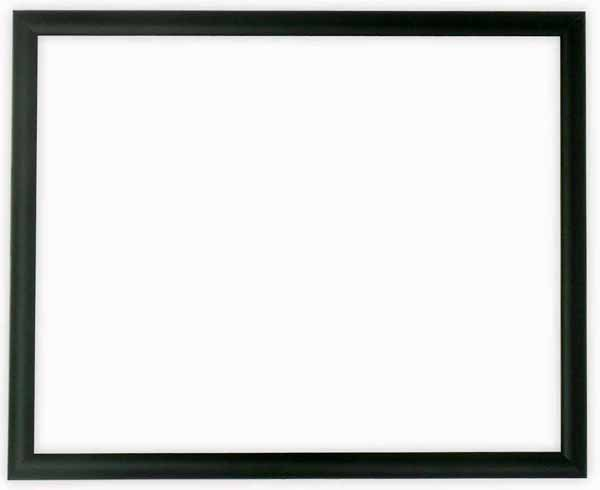 【キズ有り品】デッサン額縁 J型/黒 インチサイズ(254×203mm) ☆前面ガラス仕様☆