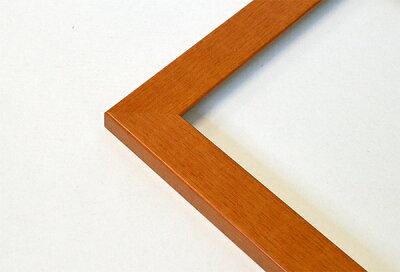 デッサン額縁1530/チークインチサイズ(254×203mm)【木製額縁】【デッサン額縁】側面画像