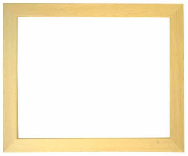 デッサン額縁 歩-8/木地 太子サイズ(379×288mm)☆前面ガラス仕様☆
