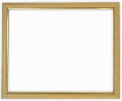 デッサン額縁魁No.2/木地三三サイズ(606×455mm)【木製額縁】【デッサン額縁】正面画像