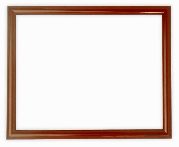 デッサン額縁 713/赤タメ 小全紙サイズ(660×509mm) ☆前面ガラス仕様☆