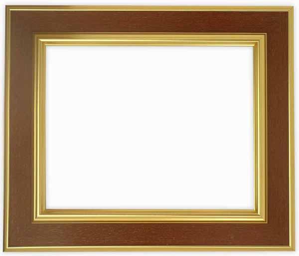 【塗装ムラ・キズあり品】デッサン額縁 9583/Gブラウン インチサイズ(254×203mm)☆前面ガラス仕様☆