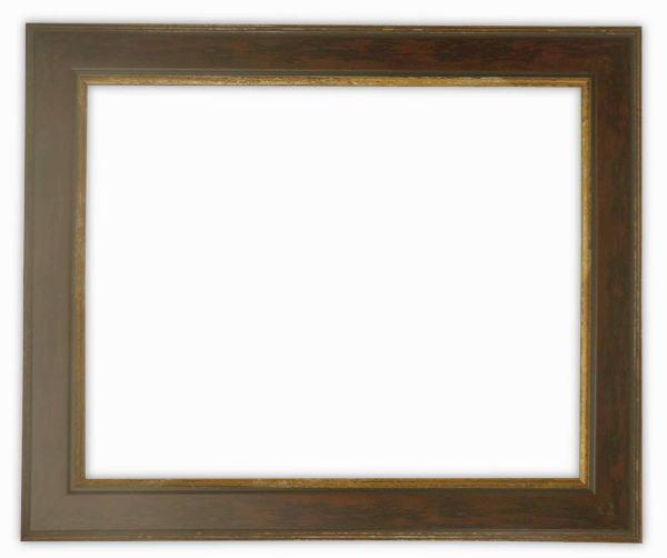 【アウトレット】デッサン額縁 9650/ブラウン インチサイズ(254×203mm)☆前面ガラス仕様☆【アウトレット品につき返品・交換不可】