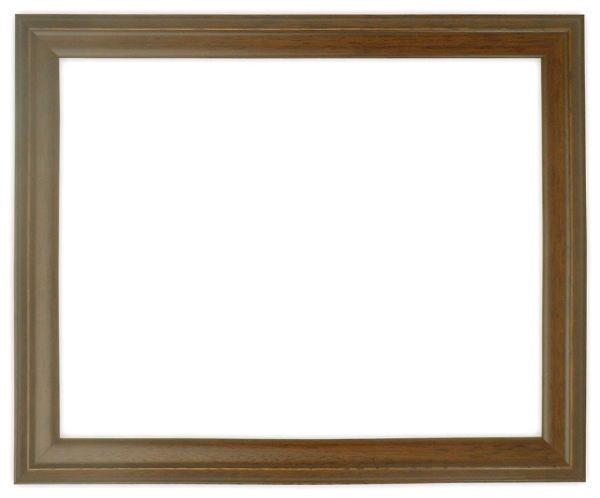 デッサン額縁 歩-2/ブラウン 八つ切サイズ(303×242mm)☆前面ガラス仕様☆