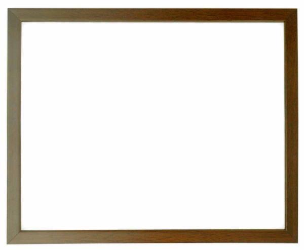 デッサン額縁 歩-7/ブラウン インチサイズ(254×203mm)☆前面ガラス仕様☆