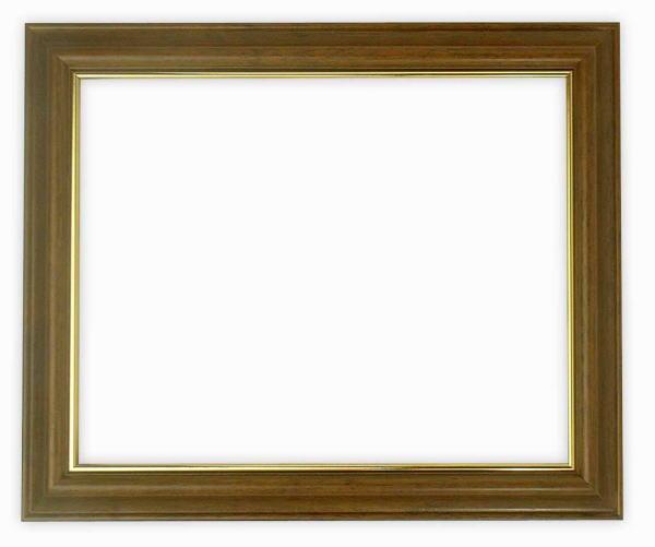 デッサン額縁 魁No.3/ブラウン 八つ切サイズ(303×242mm)☆前面ガラス仕様☆