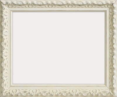 デッサン額縁アラスカ/白Sインチ(254×203mm)☆前面ガラス仕様☆