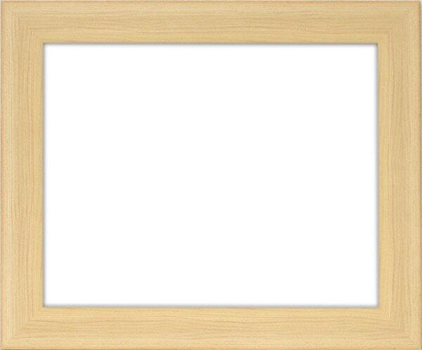 【アウトレット】 デッサン額縁 8146/木地 三三サイズ(606×455mm)☆前面ガラス仕様☆