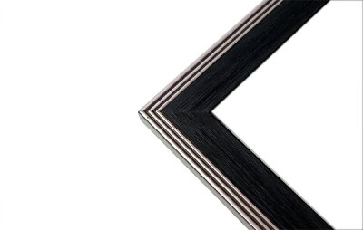デッサン額縁ボストン/黒三三サイズ(606×455mm)☆前面アクリル仕様☆