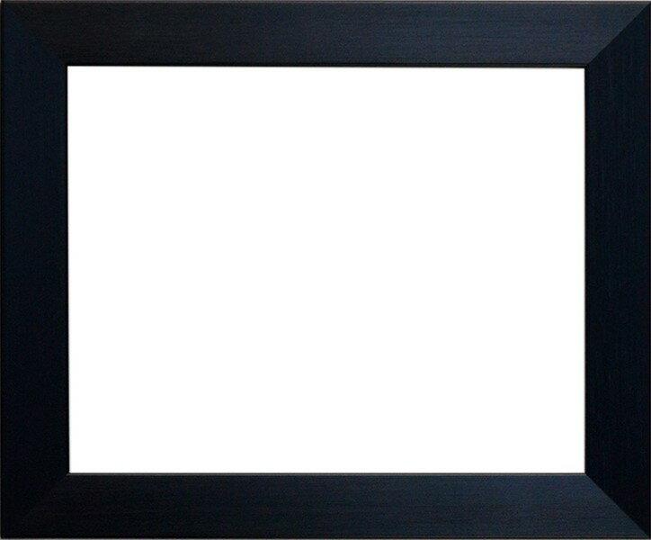 デッサン額縁 1530/黒 B2サイズ(728×515mm)☆前面ガラス仕様☆【絵画/壁掛け/インテリア/玄関/アートフレーム】