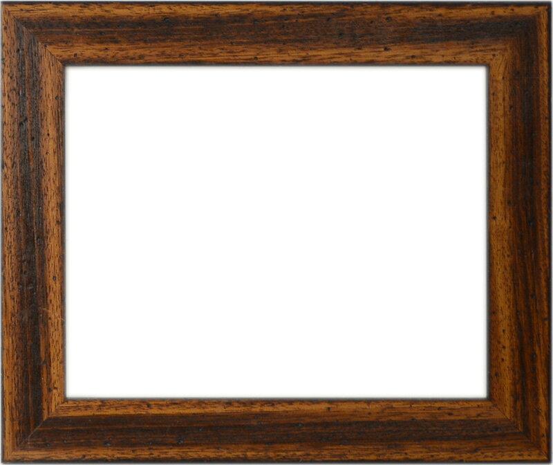 デッサン額縁 1412/ブラウン(オイル塗装) A1サイズ(841×594mm)☆前面アクリル仕様☆※受注生産品のため返品・交換不可※【送料別商品】【絵画/壁掛け/インテリア/玄関/アートフレーム】