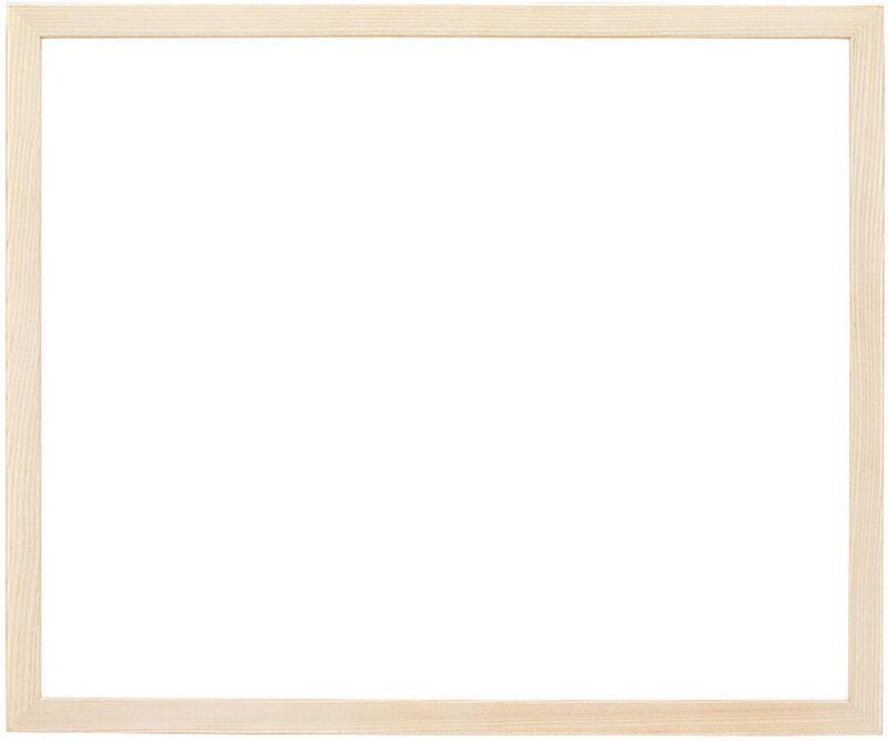 デッサン額縁 D818/ホワイト 四つ切サイズ(424×348mm)☆前面ガラス仕様☆【ラーソン・ジュール】