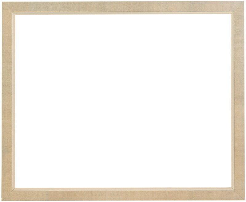 デッサン額縁 バリ/アイボリー 八つ切サイズ(303×242mm)☆前面ガラス仕様☆【ラーソン・ジュール】