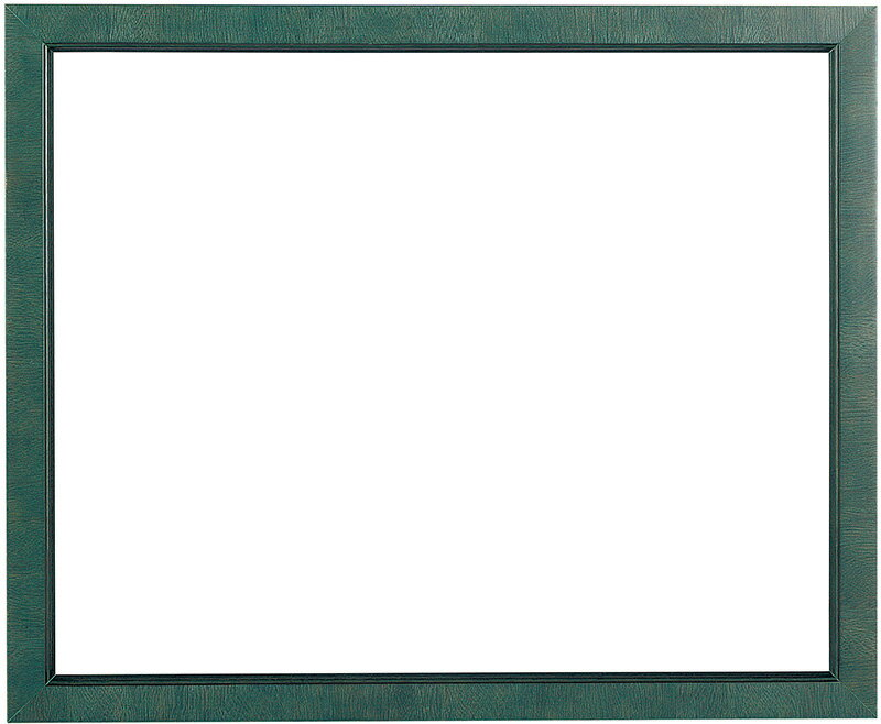 デッサン額縁 バリ/ブルー 八つ切サイズ(303×242mm)☆前面ガラス仕様☆【ラーソン・ジュール】