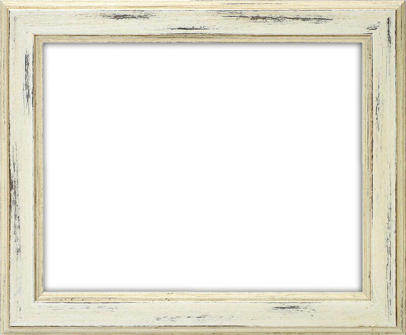 デッサン額縁 8309/ホワイト B2サイズ(728×515mm)☆前面ガラス仕様☆【絵画/壁掛け/インテリア/玄関/アートフレーム】