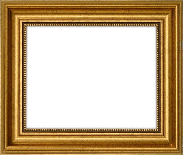 【アウトレット】 デッサン額縁 8111/ゴールド A1サイズ(841×594mm) ☆前面アクリル仕様☆