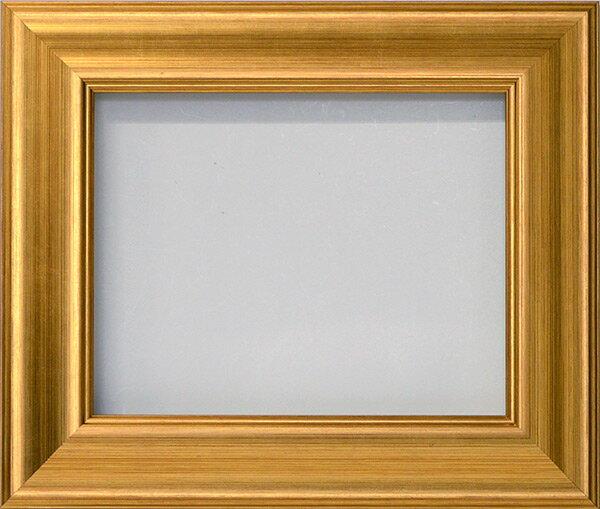 【アウトレット】 デッサン額縁 8120/ゴールド A1サイズ(841×594mm) ☆前面アクリル仕様☆