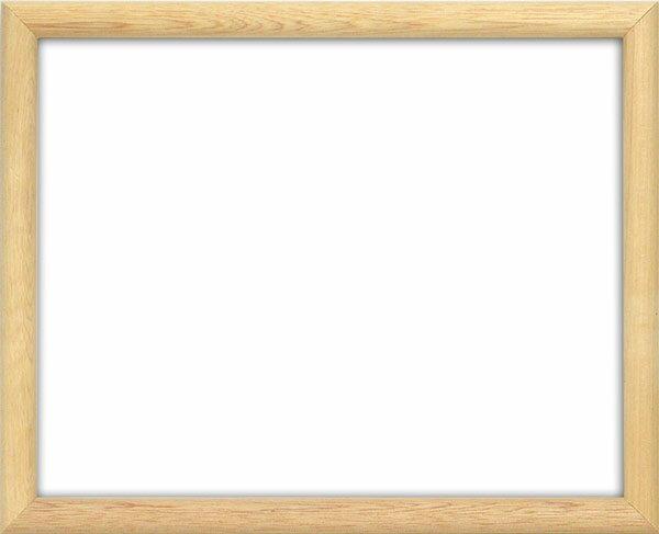 【アウトレット】デッサン額縁 713/素地 A1サイズ(841×594mm)☆前面アクリル仕様☆
