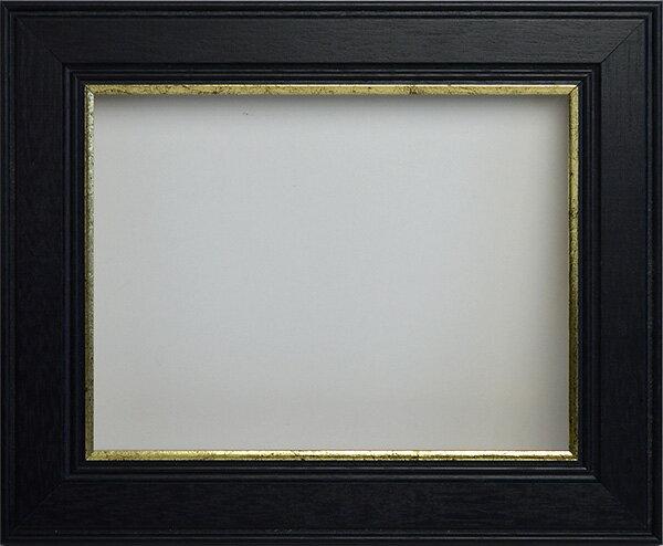 【アウトレット】 押し花額縁 トロンハイム/黒 18額サイズ(額縁裏面内寸:180×135mm)