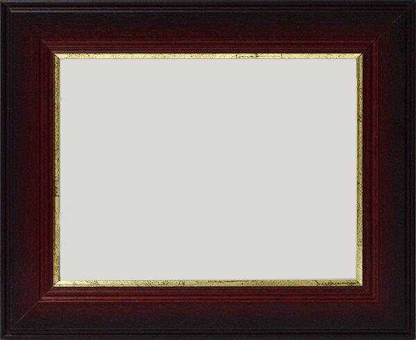 【アウトレット】 押し花額縁 トロンハイム/茶 21額サイズ(額縁裏面内寸:201×151mm)