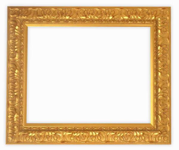 デッサン額縁 246/ゴールド 小全紙サイズ(660×509mm)☆前面ガラス仕様☆