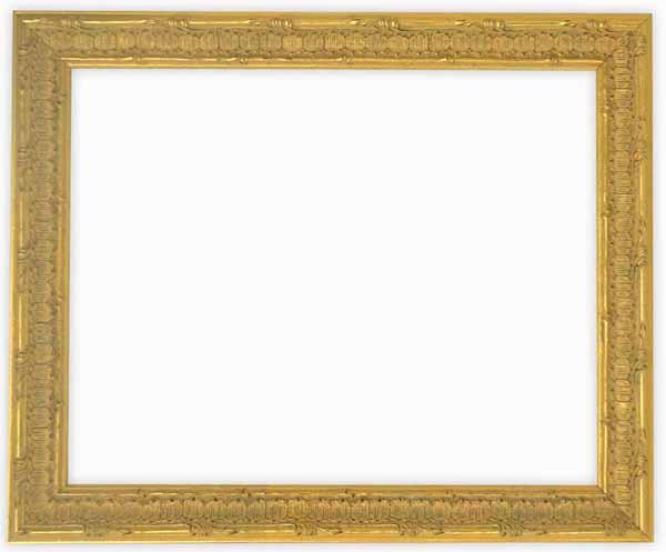 デッサン額縁 9386/ゴールド 小全紙サイズ(660×509mm)【木製額縁】☆前面ガラス仕様☆
