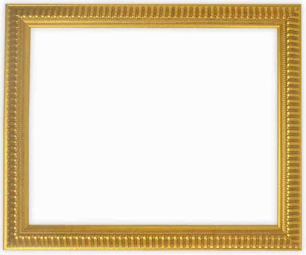 デッサン額縁 9602/ゴールド インチサイズ(254×203mm)☆前面ガラス仕様☆