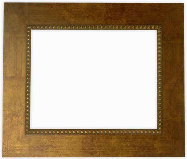 デッサン額縁 HQ805/ゴールド 小全紙サイズ(660×509mm)☆前面ガラス仕様☆