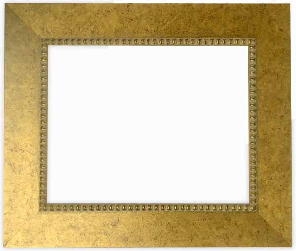 デッサン額縁 HQ869/ゴールド 小全紙サイズ(660×509mm)☆前面ガラス仕様☆