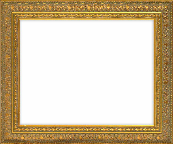デッサン額縁 420型/ゴールド 小全紙サイズ(660×509mm)☆前面ガラス仕様☆ 【模様・色に仕様変更有り】