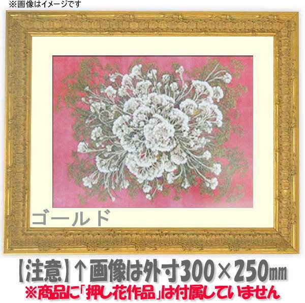 押し花額縁 9386/ゴールド 大衣サイズ(ガラス506×391mm)【os-B】