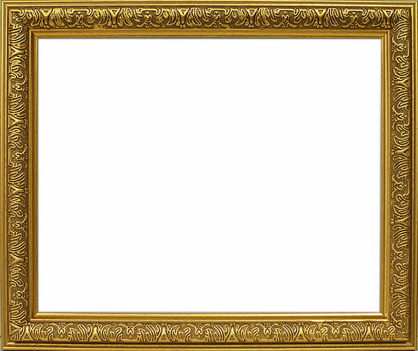 デッサン額縁 シャイン/ゴールド インチサイズ(254×203mm)☆前面ガラス仕様☆ 【シャイン/金/インチ/ガ】【bt-st】