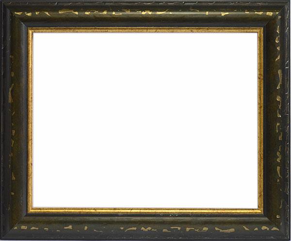 デッサン額縁 9374/グリーン 大全紙サイズ(727×545mm)☆前面ガラス仕様☆