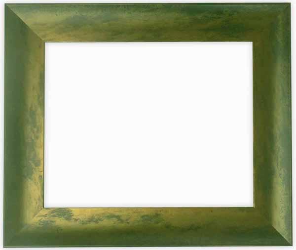 デッサン額縁 9615/グリーン 小全紙サイズ(660×509mm)☆前面ガラス仕様☆