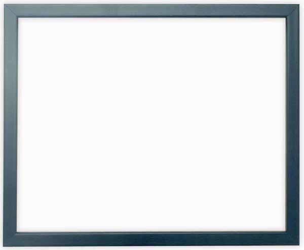 デッサン額縁 歩-7/ブルー 八つ切サイズ(303×242mm)☆前面ガラス仕様☆