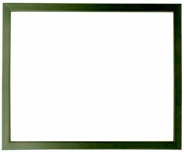 デッサン額縁 歩-7/グリーン インチサイズ(254×203mm)☆前面ガラス仕様☆