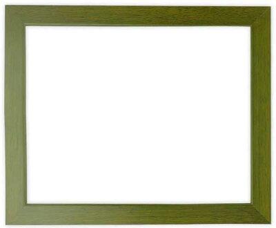 デッサン額縁歩-8/オリーブ三三サイズ(606×455mm)【木製額縁】【デッサン額縁】正面画像